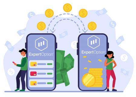 Come depositare denaro in ExpertOption