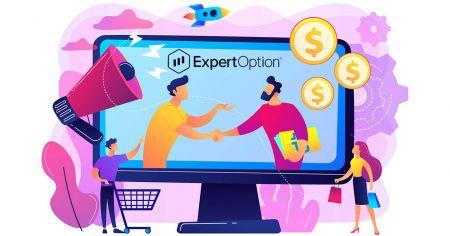 Come aderire al programma di affiliazione e diventare partner di ExpertOption