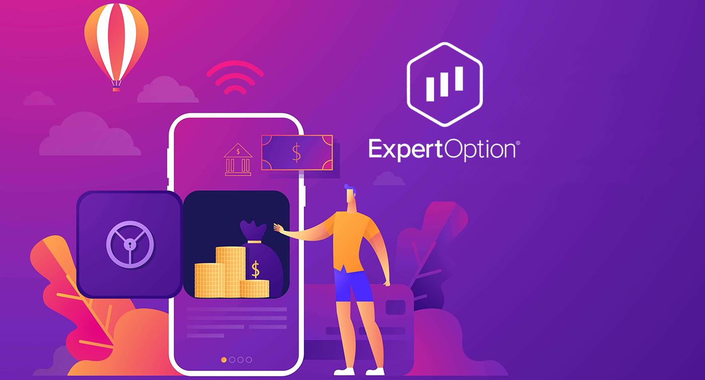 Come prelevare ed effettuare un deposito in ExpertOption