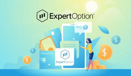 Come aprire un conto e depositare denaro su ExpertOption