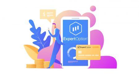 Come accedere e prelevare denaro da ExpertOption