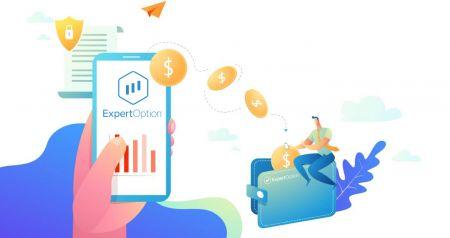 Come negoziare opzioni binarie e prelevare denaro da ExpertOption