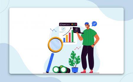 Come registrarsi e iniziare a fare trading con un conto demo in ExpertOption