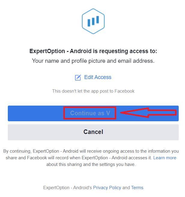 Come aprire un conto e accedere a ExpertOption