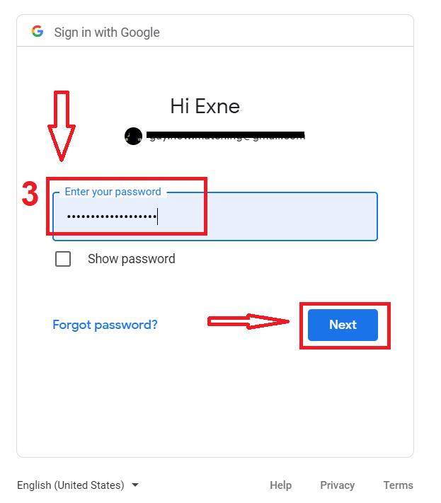 Come registrare l'account in ExpertOption