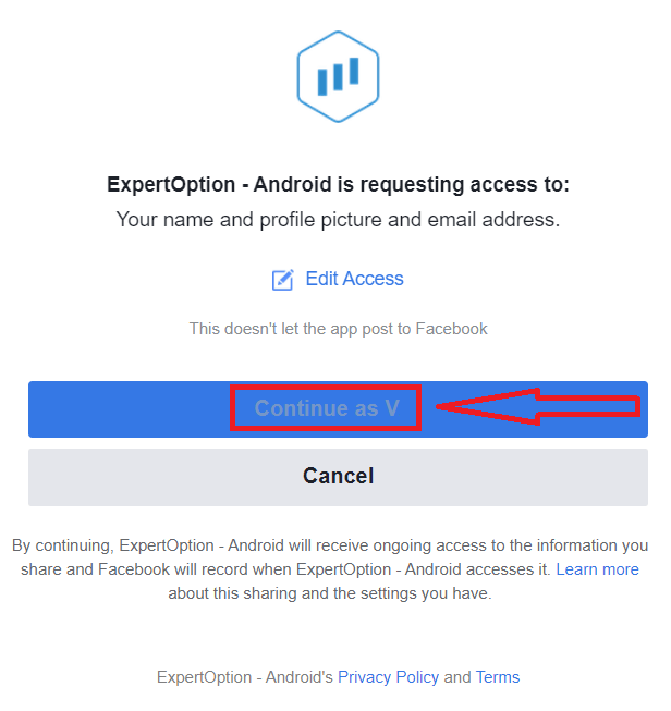 Come registrarsi e accedere all'account in ExpertOption